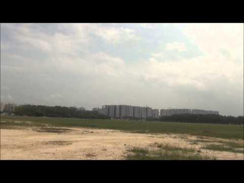Taft Hobby Viper jet 8S flight and crash