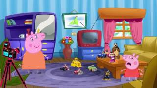 Свинка Пеппа на русском серии подряд ДЖОРДЖ приключения на весь экран новый сезон от МУЛЬТИК ДЕТЯМ