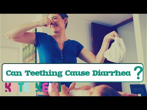 Can Teething Cause Diarrhea in Babies | Causes of Diarrhea Teething