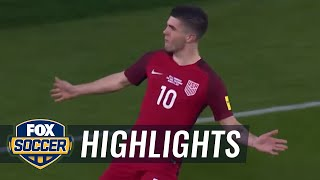 Christian Pulisic scores USA's fourth goal against Honduras | CONCACAF World Cup Qualifying