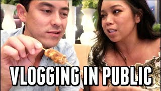 THE REALITY OF VLOGGING IN PUBLIC -  ItsJudysLife Vlogs