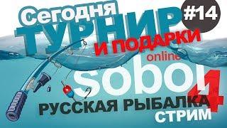 Русская рыбалка 4 - Ловим рыбу. Турнир с призами. Стрим #14
