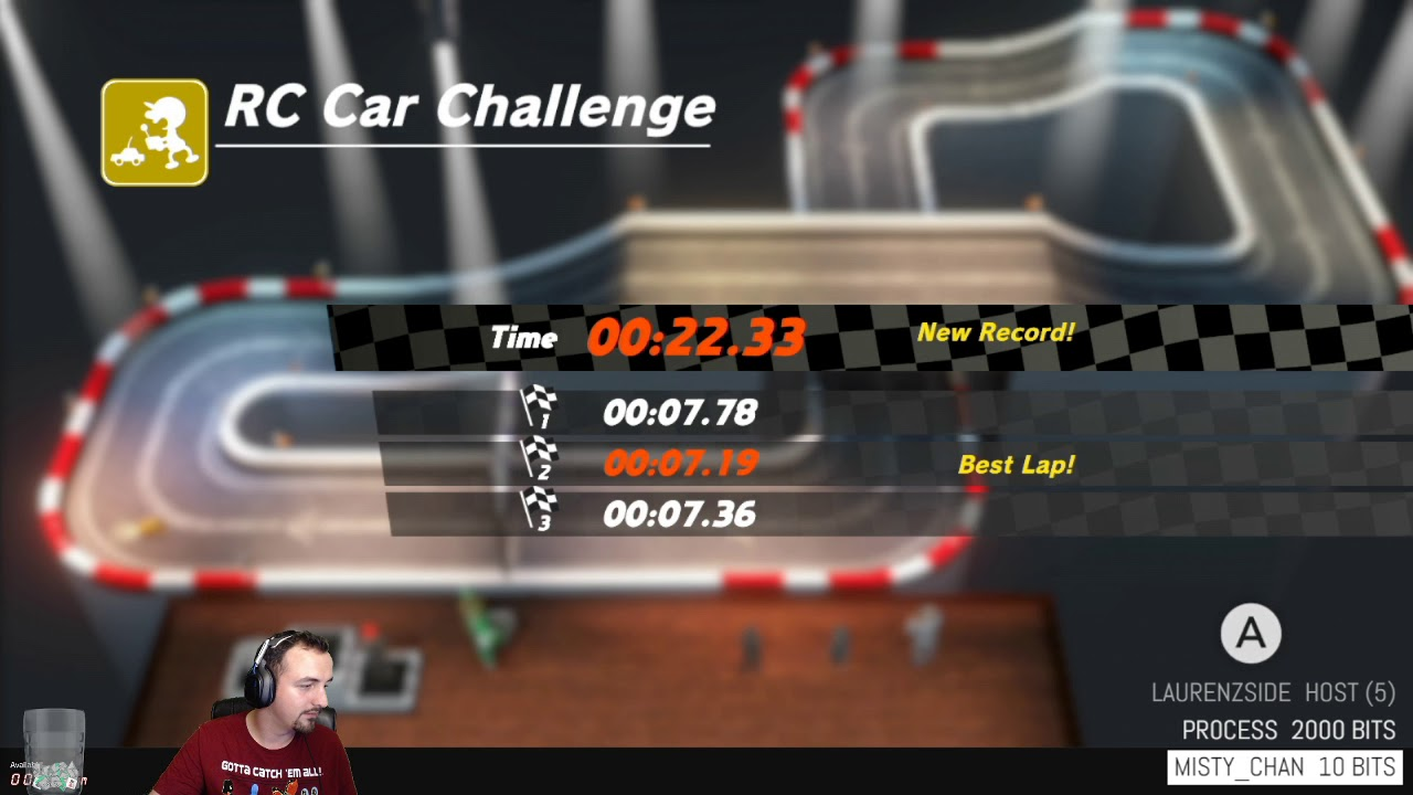 Rc Car Challenge 22 33 19th World Rank Super Mario Odyssey