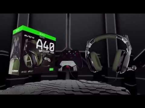 Astro A40 Tr Xbox One Headset +Mixamp M80 Xo Dark