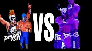 Download Lagu LUCHA ESTELAR!! Rush y Bestia del Ring VS Blue Demon y Psycho Clown mp3