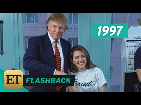 FLASHBACK: Donald Trump Held a Press Conference About Alicia Machado's Weight in 1997