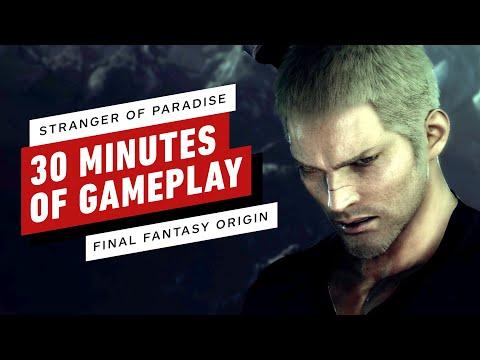 Stranger of Paradise: Final Fantasy Origin – 30 Minutes of Gameplay (Full Demo Playthrough)