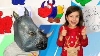 Песенка про Носорога для детей
