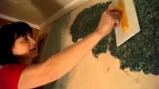 Отделка стен своими руками с шелковой штукатуркой Silk Plaster / От участника Акции