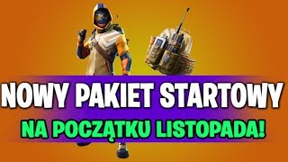 WE ALREADY KNOW THE EXACT DATE OF THE NEW STARTER PACK IN FORTNITE BATTLE ROYALE