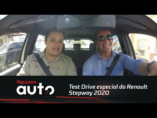 Confira o Test Drive especial do RenaultStepway 2020