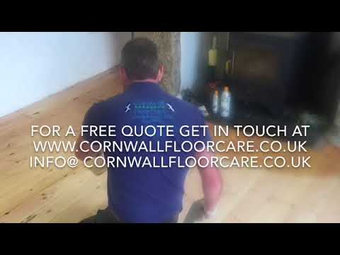 Cornwall Floor Care dust free Floor sanding cornwall