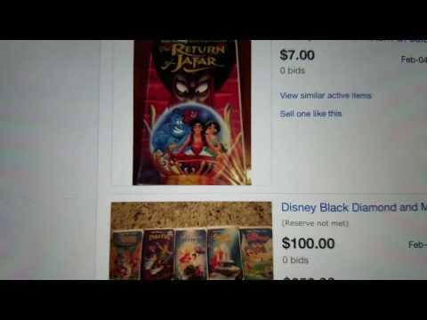 Walt Disney Black Diamond Vhs And Demo Tapes Insanity Fad Ebay Vhs Tapes Youtube