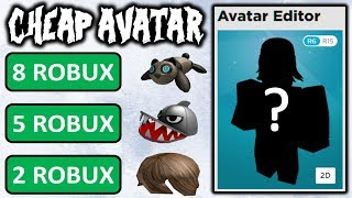 Complete cheap avatar for 30 robux? ($0.38)