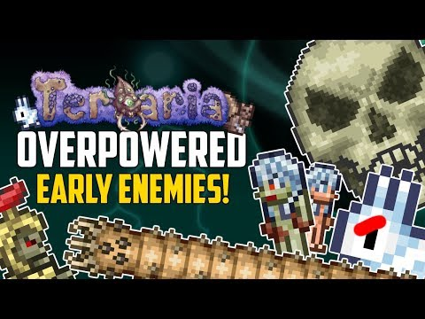 Terraria Top 5 OVERPOWERED Early Enemies! | Pre-Hardmode PC, Mobile, Console | 1.2 & 1.3