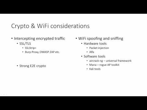 #26 Spoofing, crypto and wifi