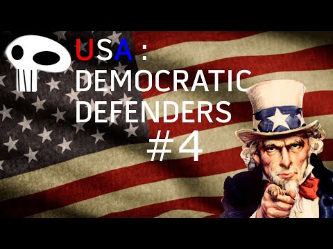 Hearts of Iron IV USA: Democratic Defenders Episode 4