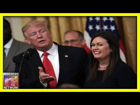 YES! Sarah Sanders Is BACK! WATCH Her Blow Holes In The HOAX Impeachment Narrative