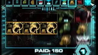 Aliens online slot, big feature. Inc queen end game.(first time i've gone all the way with this feature, nice result on a relatively small stake., 2015-01-08T12:19:17.000Z)