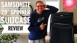 Samsonite Luggage Review - 29 Inch Spinner Starboard Suitcase