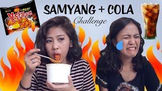 SAMYANG + COLA CHALLENGE ( FT VANIA THUFAILA ) - VENNA VIOLITA- BAHASA