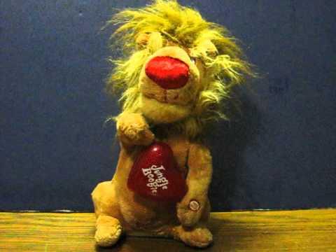 Sale Item Demo - Dan Dee Plush Jungle Boogie Singing Lion