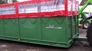 AW 7T Low Load Livestock & Shoot trailer