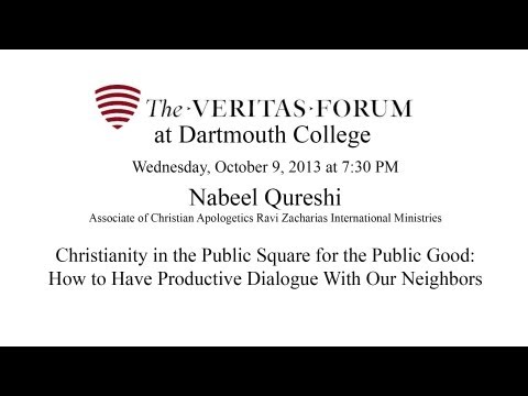 Veritas Forum at Dartmouth: Christianity in the Public Square for the Public Good