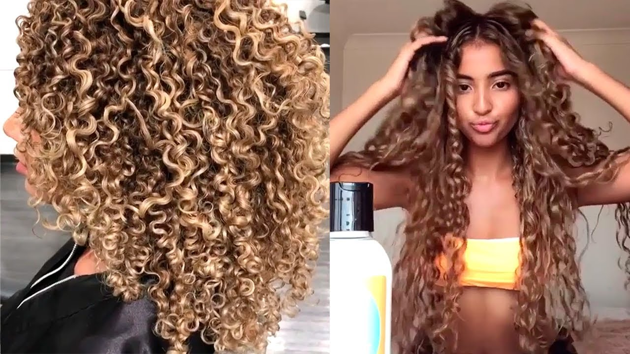 Curly Hair Is Beautiful Part2 Hair Tutorial Compilation For Curly