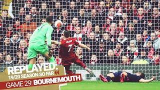 REPLAYED: Liverpool 2-1 Bournemouth | Milner saves it after Salah & Mane goals