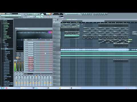 Kygo - Firestone feat. Conrad (Fl Studio 11)