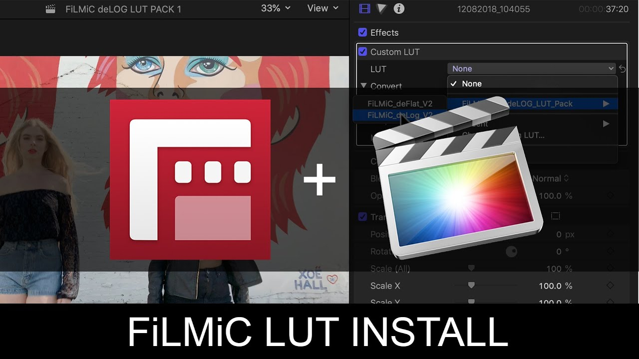 Official FiLMiC Pro LUT Pack - Free Download | Filmic Pro