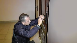 Вскрытие замка без повреждения двери