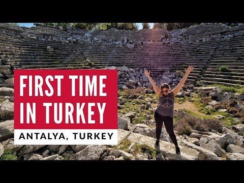 First Time In Turkey | Turkish Breakfast + Ancient Antalya | Full Time World Travel Vlog 1
