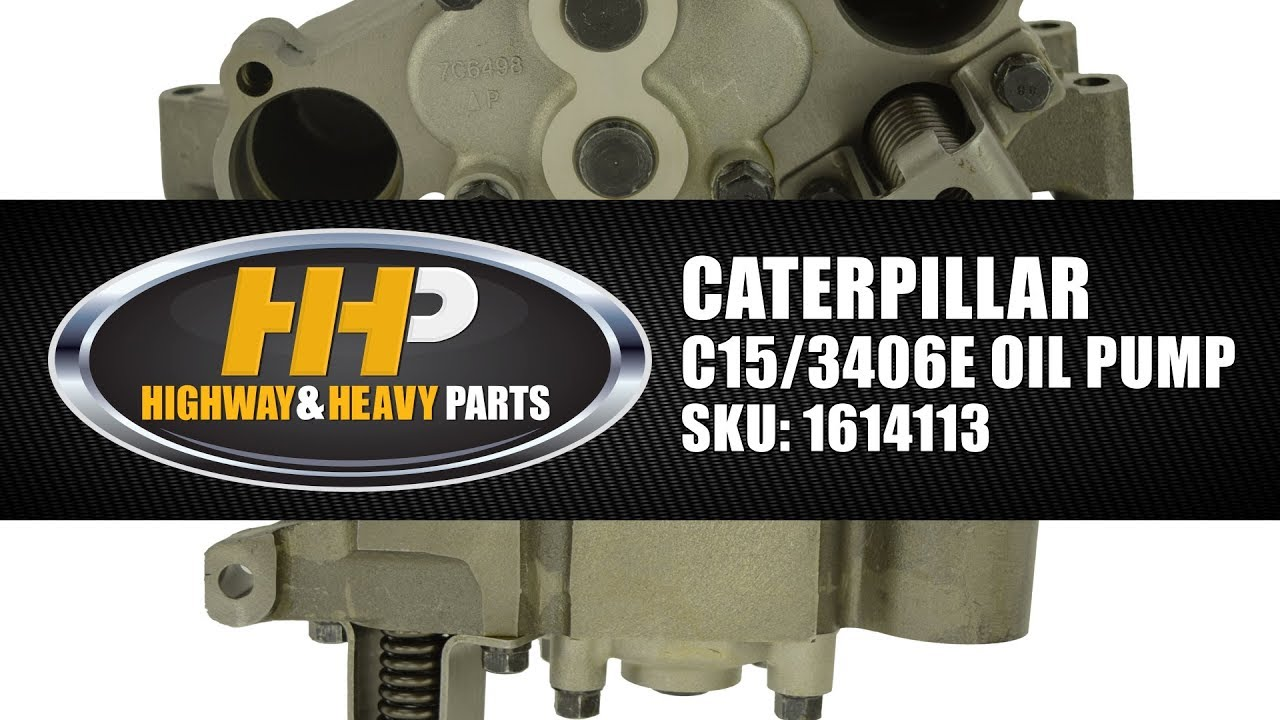 cat diesel engine oil pump for c15 3406e from highway and heavy parts  [ 1280 x 720 Pixel ]