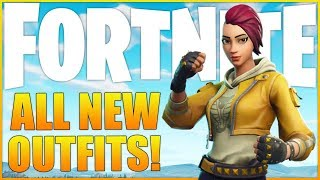 NEW SKINS TODAY! - New Fortnite Update - (Fortnite: Battle Royale Gameplay)