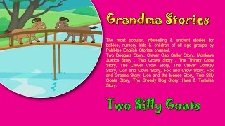 Don Bakrya   Two Goats   Chan Marathi Goshti   Grandma Marathi Stories For  Kids HD by Pebbles Marathi