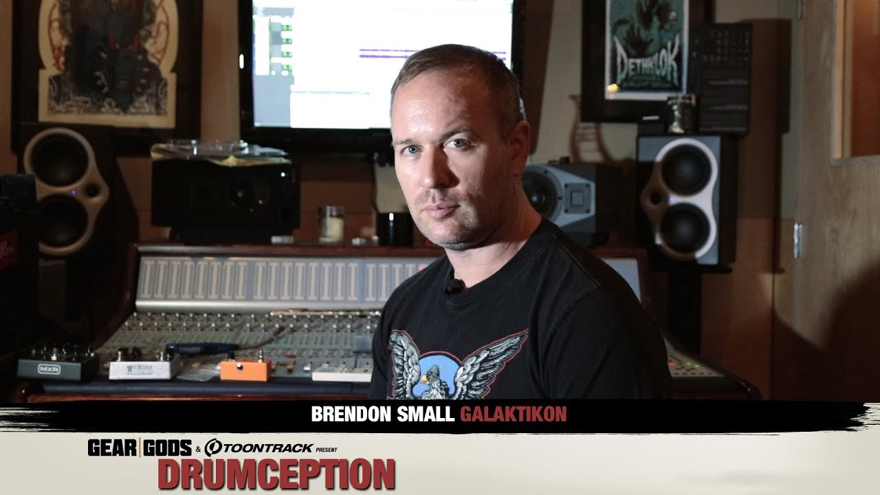 Brendon Small Of Galaktikon Dethklok Shows You How To Write A Song With Toontrack Gear Gods Youtube