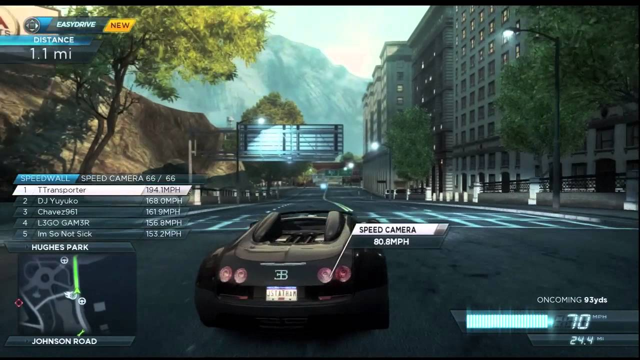 need for speed most wanted 2012 xbox 360 bugatti veyron grand sport vitesse youtube. Black Bedroom Furniture Sets. Home Design Ideas