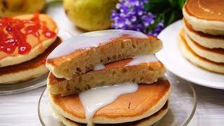 Любимый завтрак моей Школьницы. По этому рецепту Панкейки у Вас  получатся 100!%