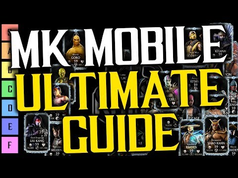 MK Mobile ALL Diamond Cards POWER RANKING | MKX ULTIMATE Guide