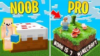 TORTA NOOB CONTRO TORTA PRO su Minecraft ITA