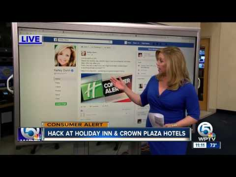 Hack at Holiday Inn Plaza, Crowne Plaza hotels