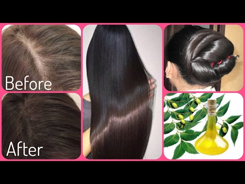 How To Use Neem Oil To Get Long Thick Hair Stop Hair Fall Get Faster Hair Growth In Days