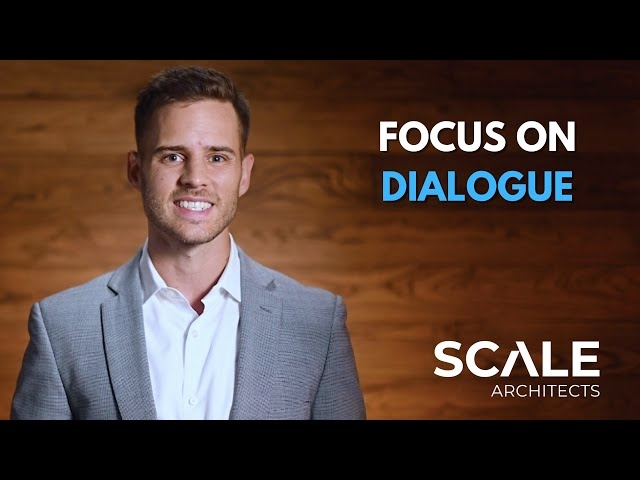 Use dialog to communicate clearly in uncertainty