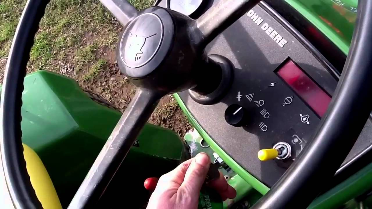 John Deere 750 Utility Tractor Wiring Diagram Trusted 650 Youtube 755