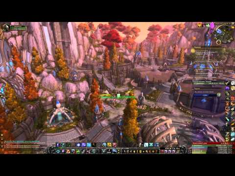 World of Warcraft за текстурами Шаттрата в Дреноре