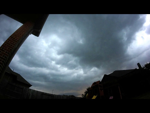 Thunderstorm Cloud Timelapse In Cypress, TX