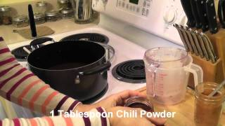 How-to: Black Bean Soup (vegan) ~ A Gluten Free, Soy Free, Nut Free, Dairy Free Recipe