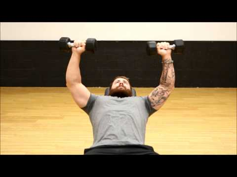 Incline Dumbbell Tricep Extension
